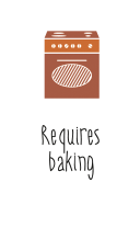 Requires baking