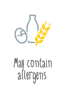 May contain allergens