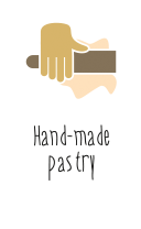 Hand-made pastry