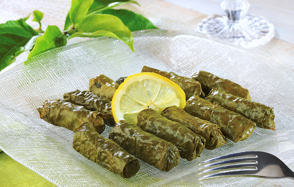 Rice-Stuffed Vine Leaves